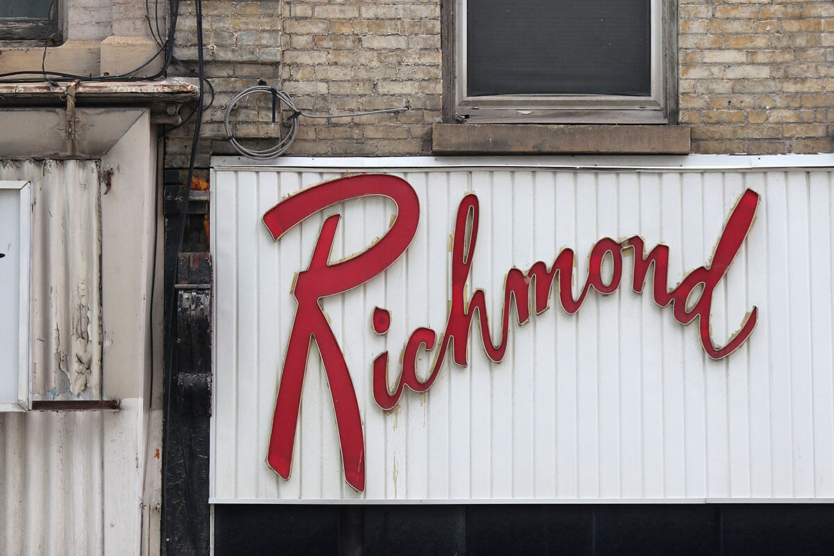 Richmond Variety Signage